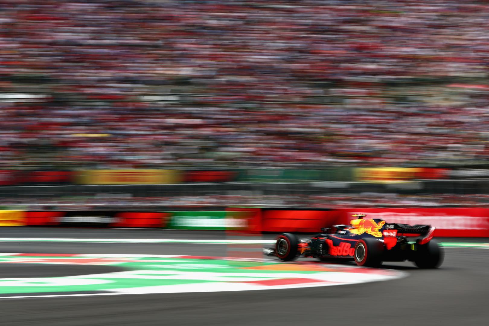 Max Verstappen GP van Mexico 2018