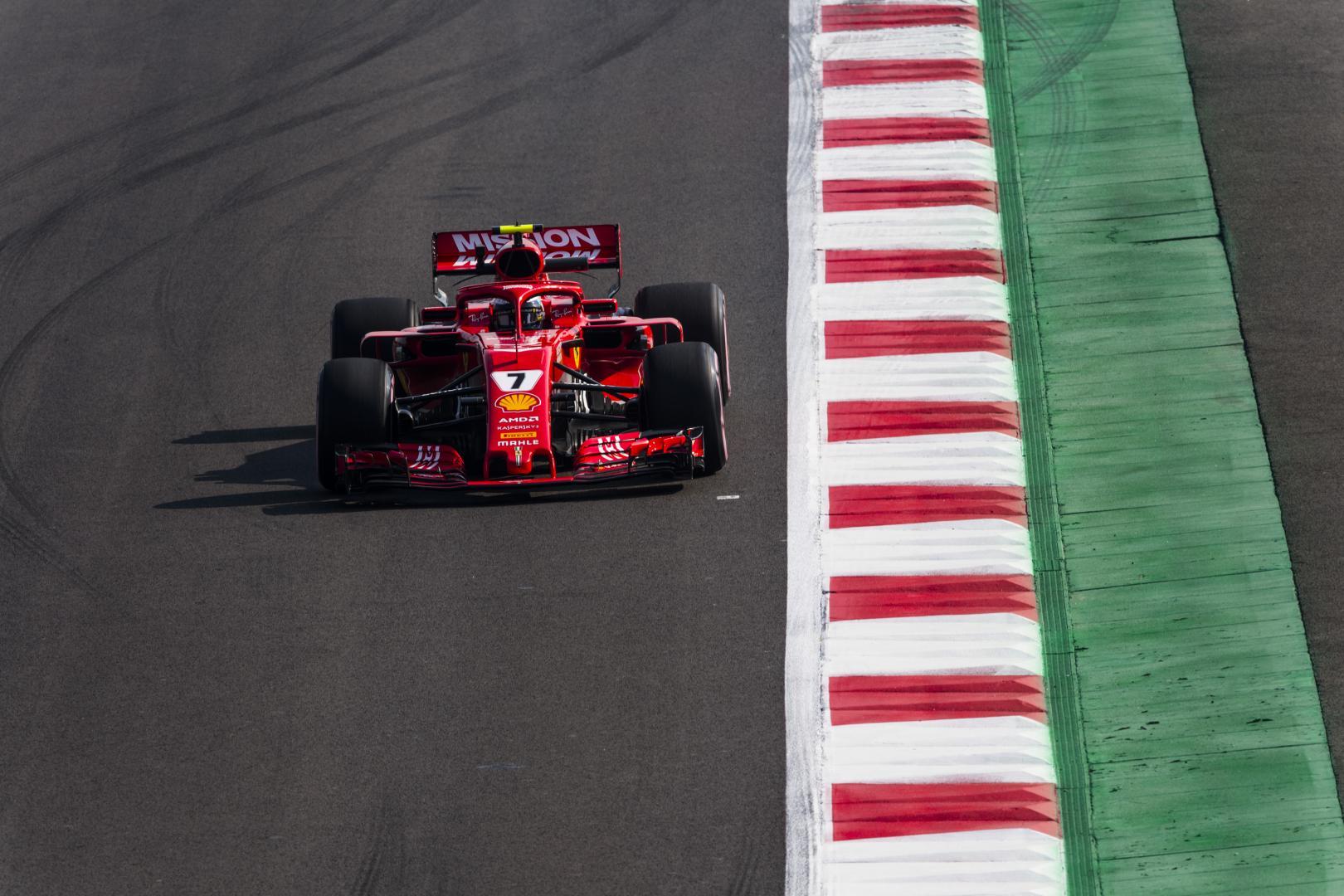 Ferrari GP van Mexico 2018