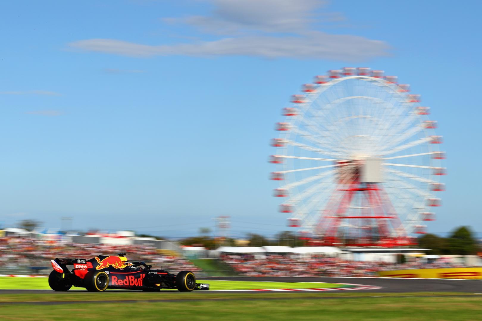 Max Verstappen RB14 Suzuki GP van Japan