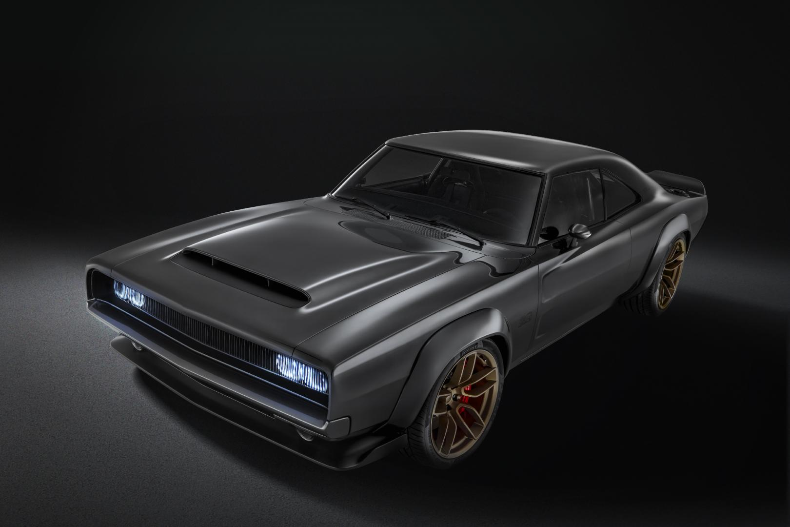 The Dodge Super Charger Charger