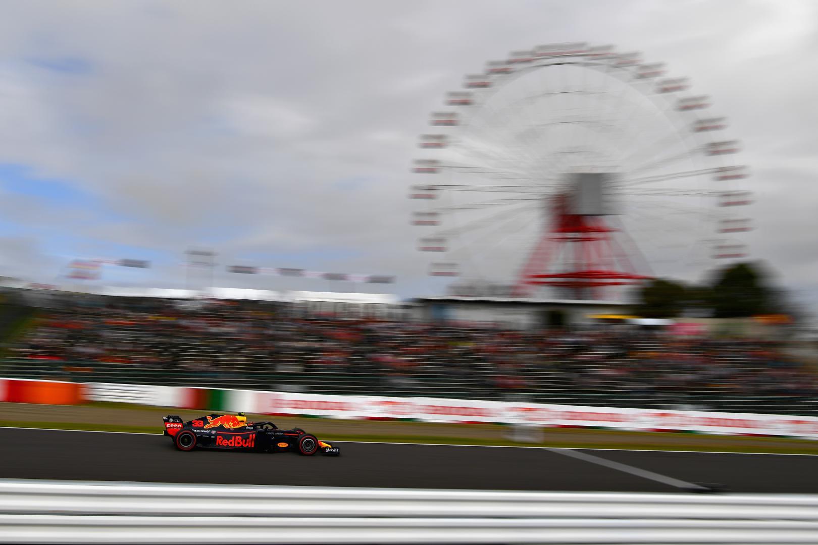 Kwalificatie van de GP van Japan 2018