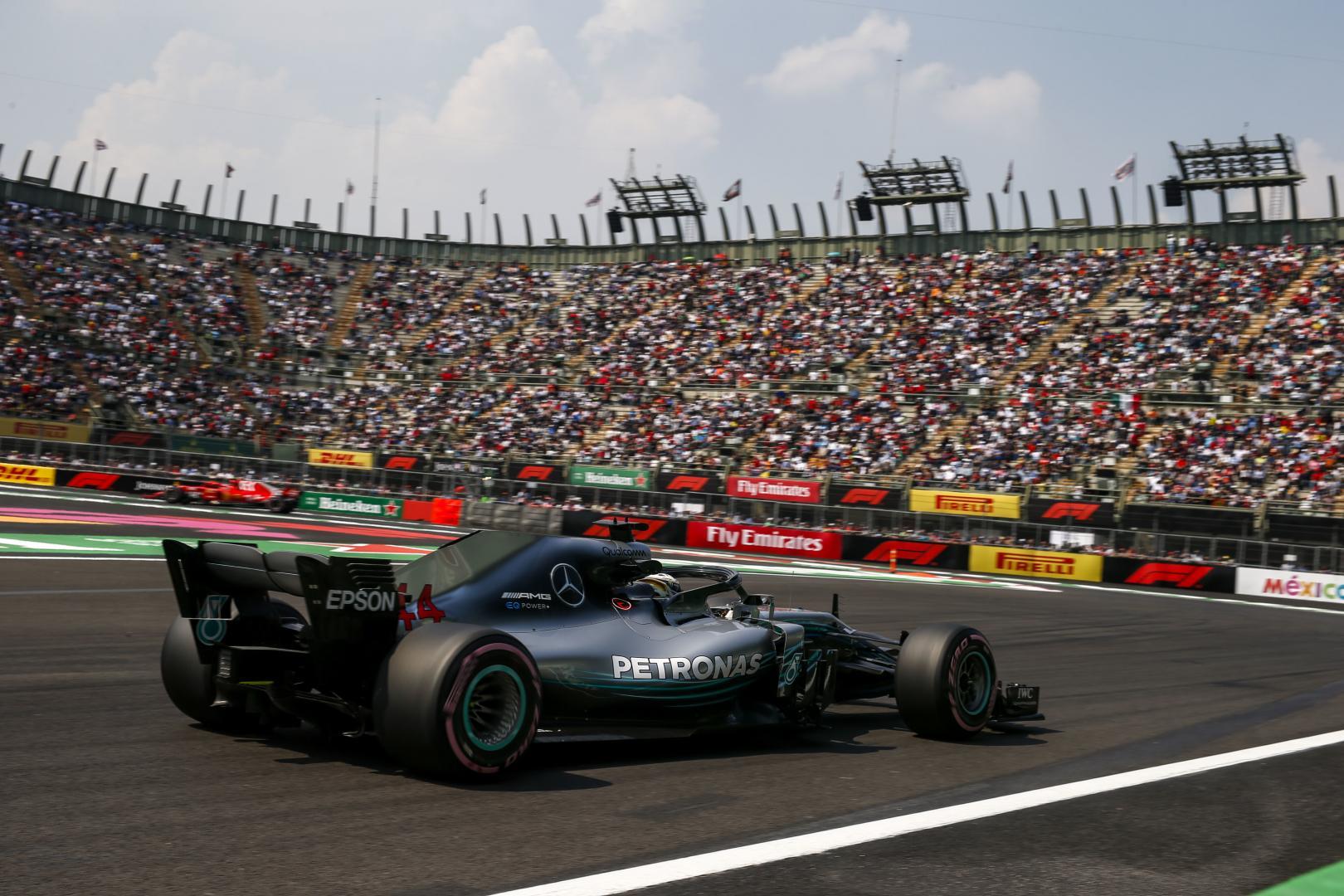 Kwalificatie van de GP van Mexico 2018