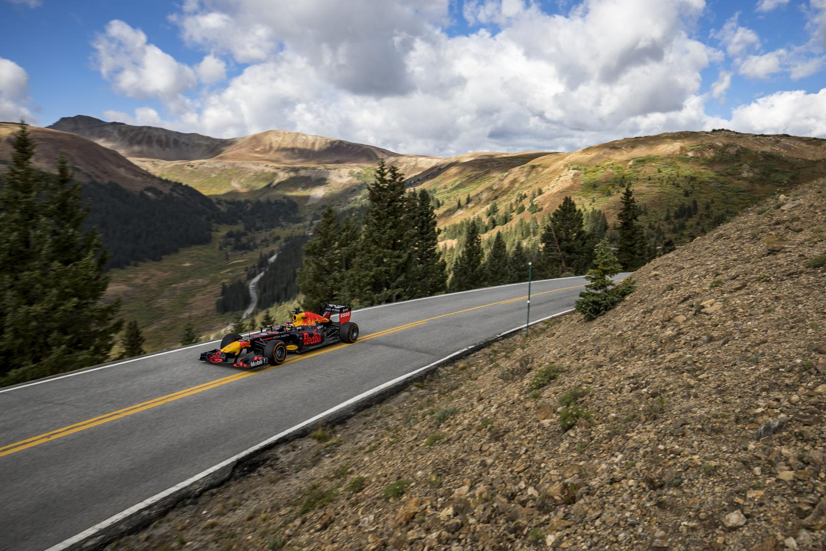 Max Verstappen RB7 Independence Pass, Colorado