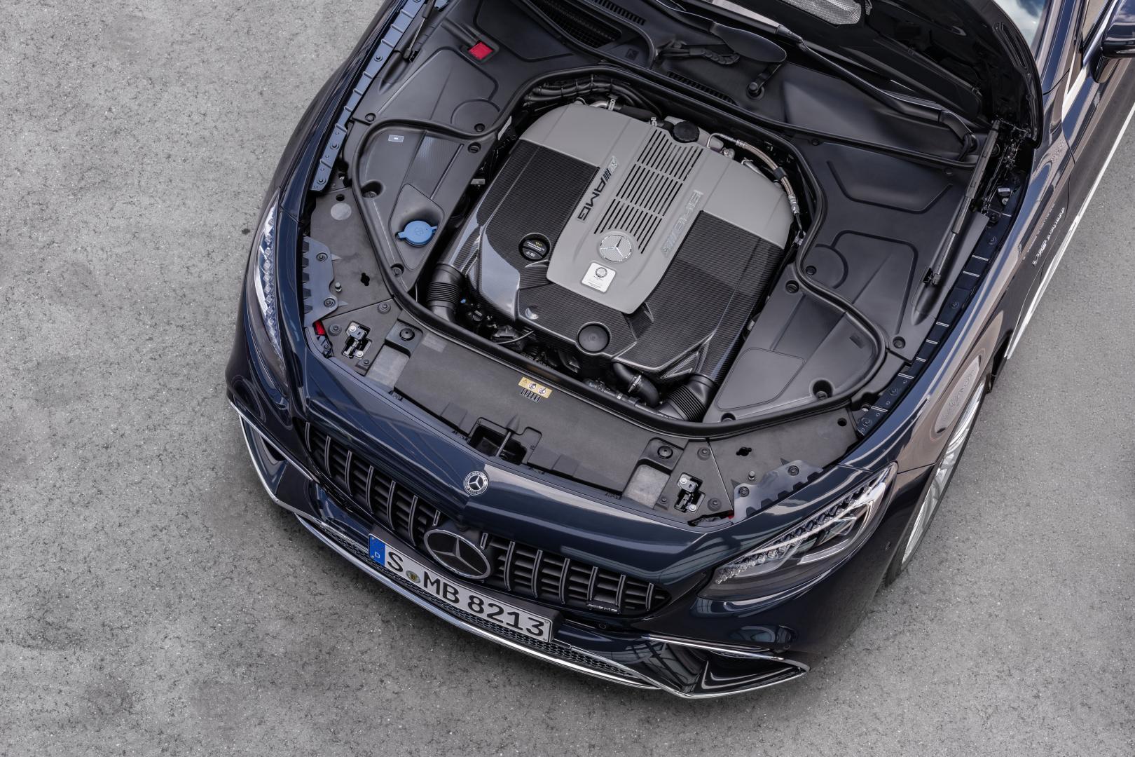 Mercedes-AMG S 65 V12 badge logo