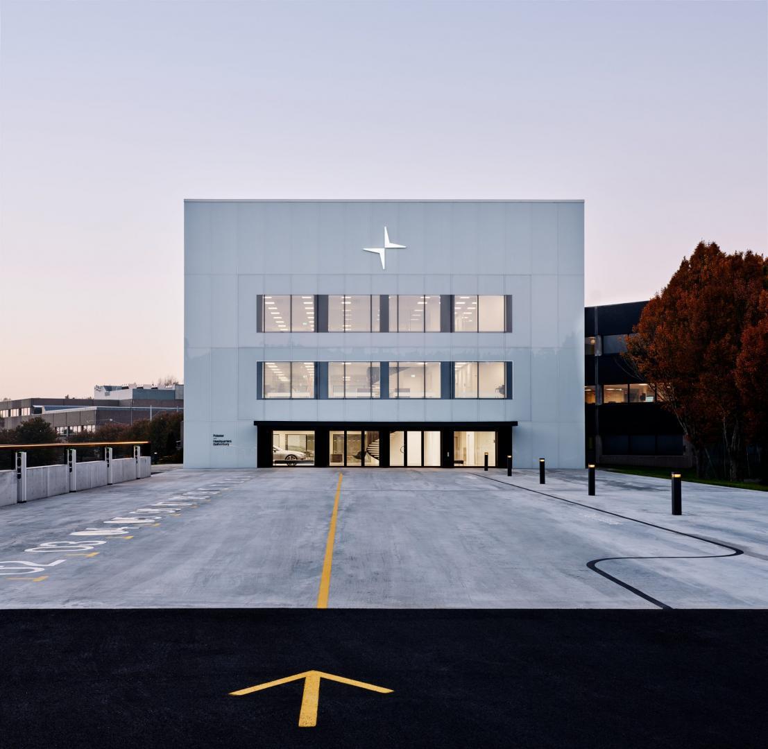 polestar-hoofdkantoor goteborg zweden