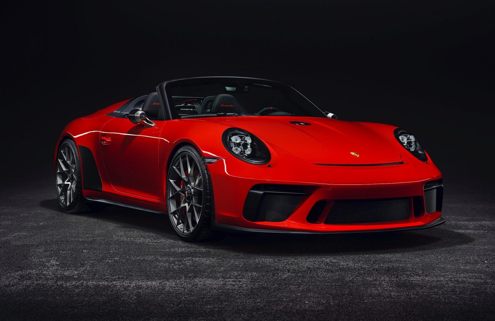 Porsche gaat de 911 Speedster in productie nemen