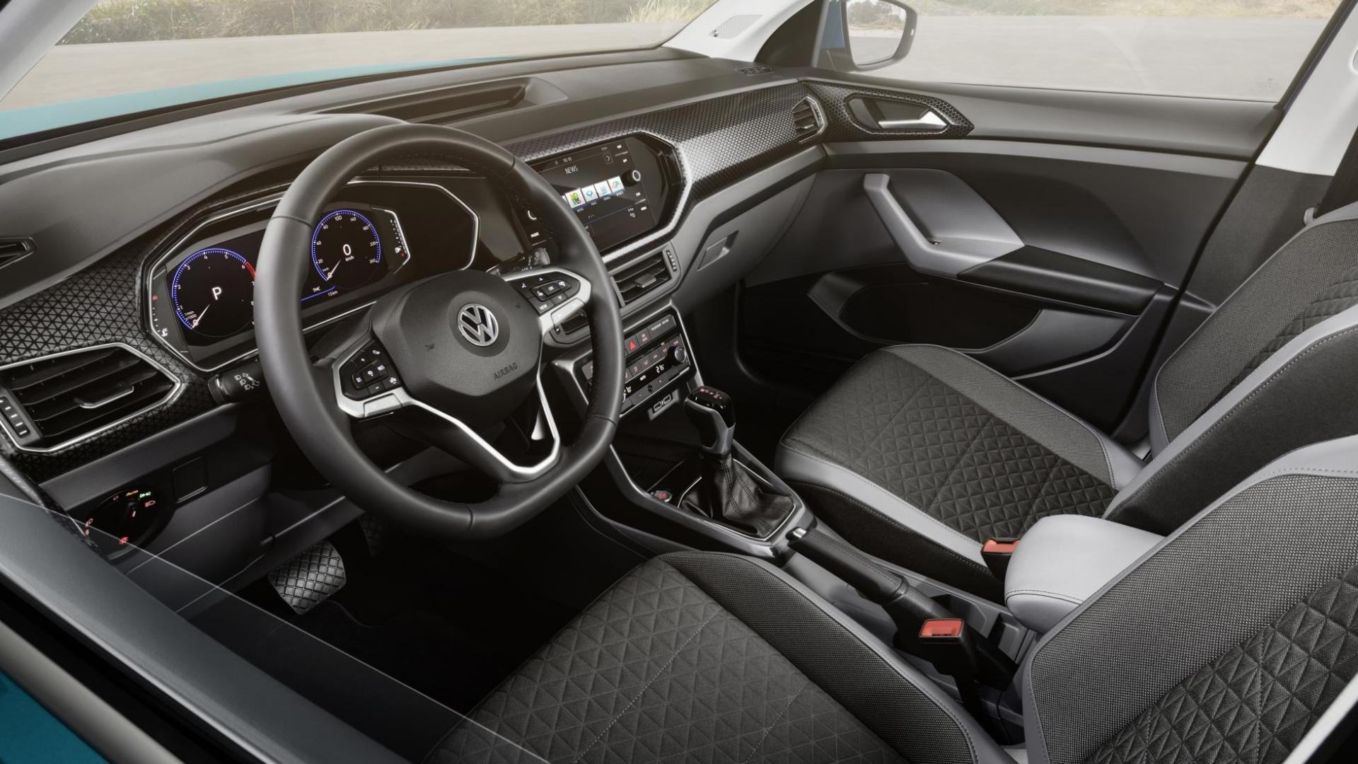 Volkswagen T-Cross 2018 interieur