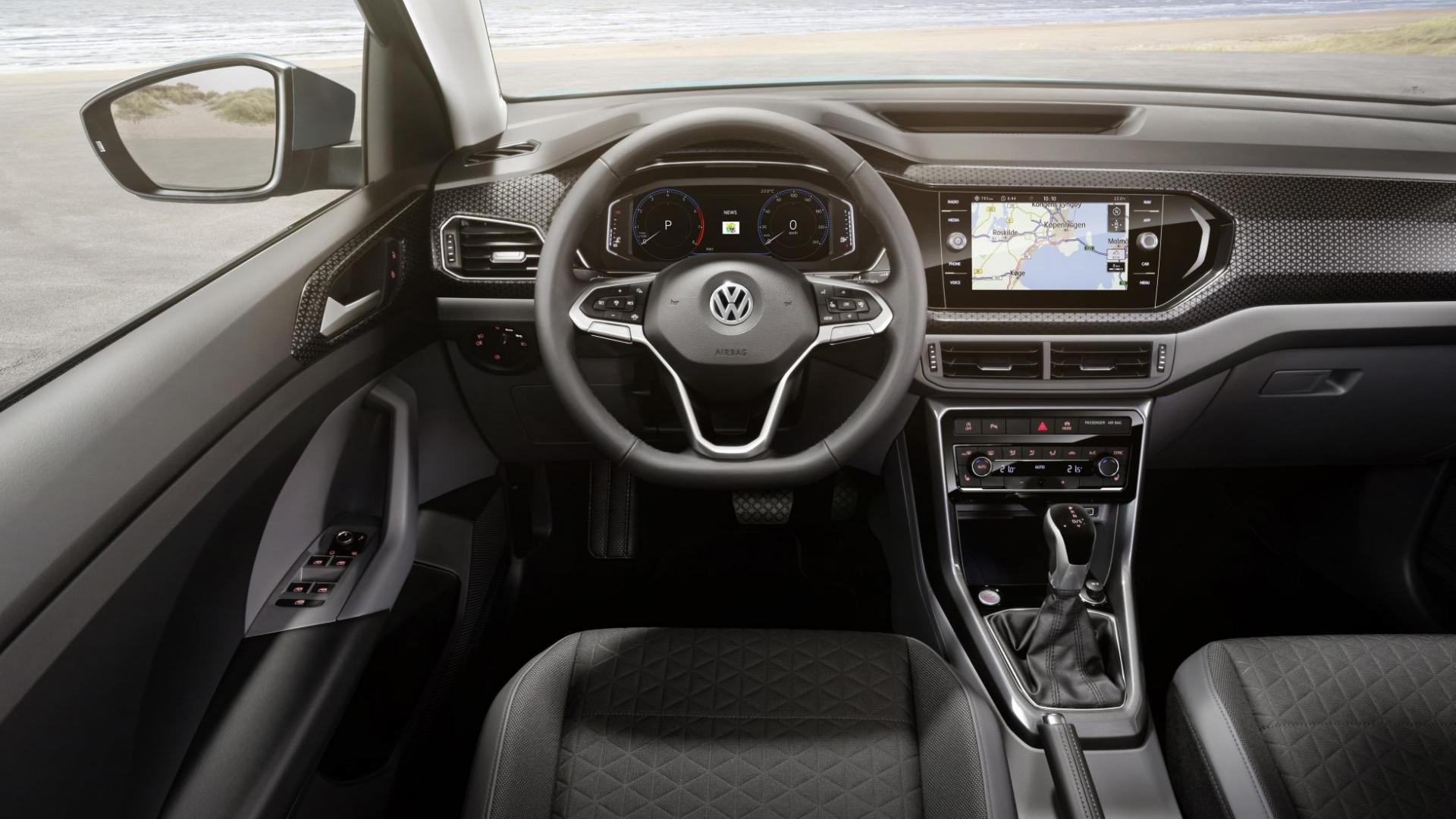 Volkswagen T-Cross 2018 interieur