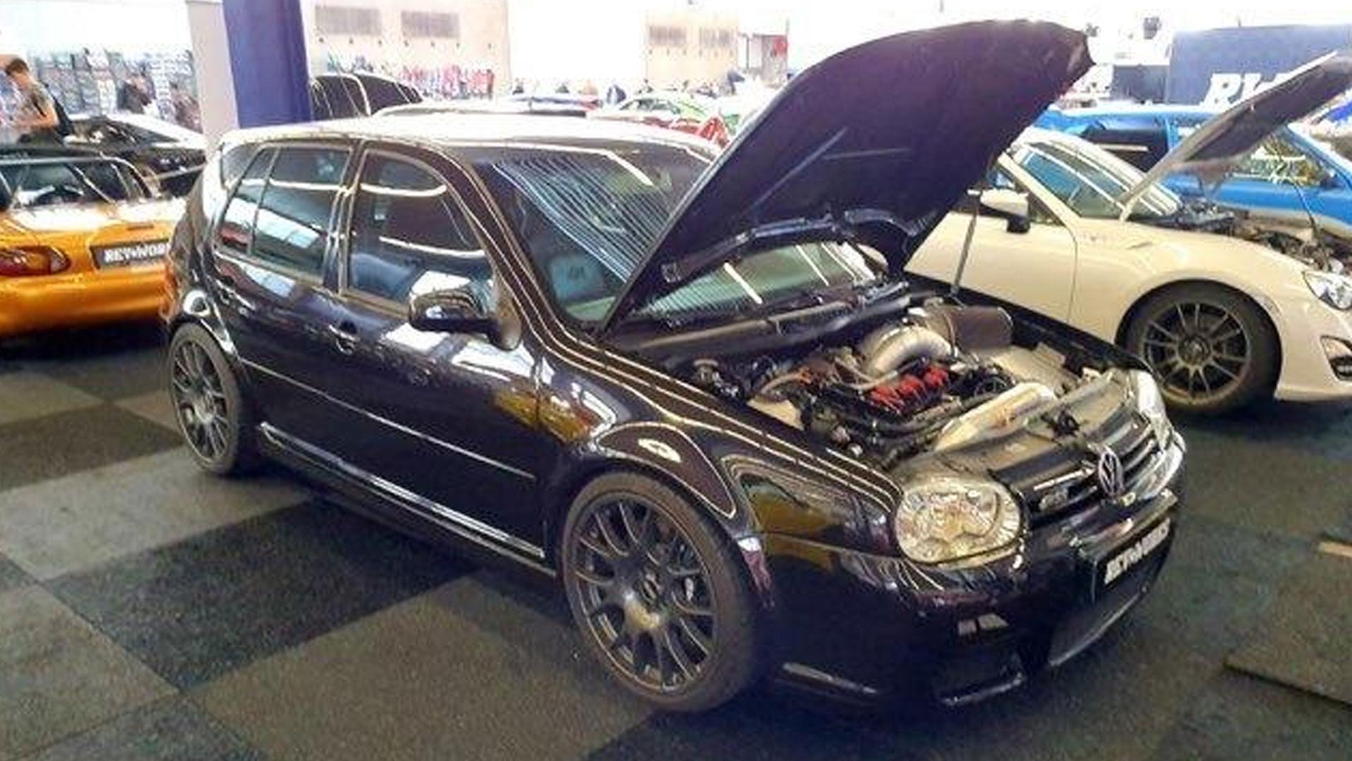 VW Golf met 1000 pk