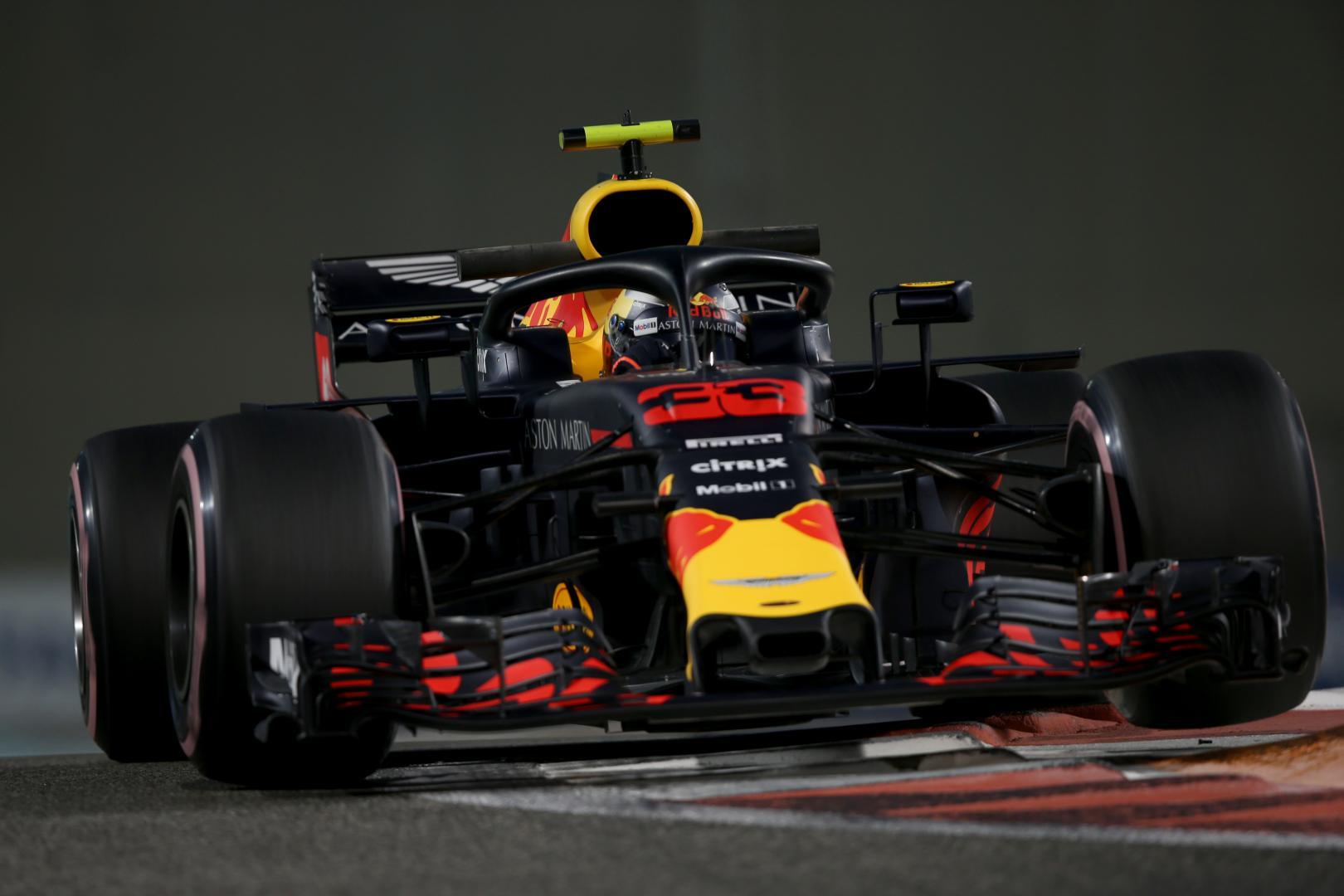 3e vrije training van de GP van Abu Dhabi 2018