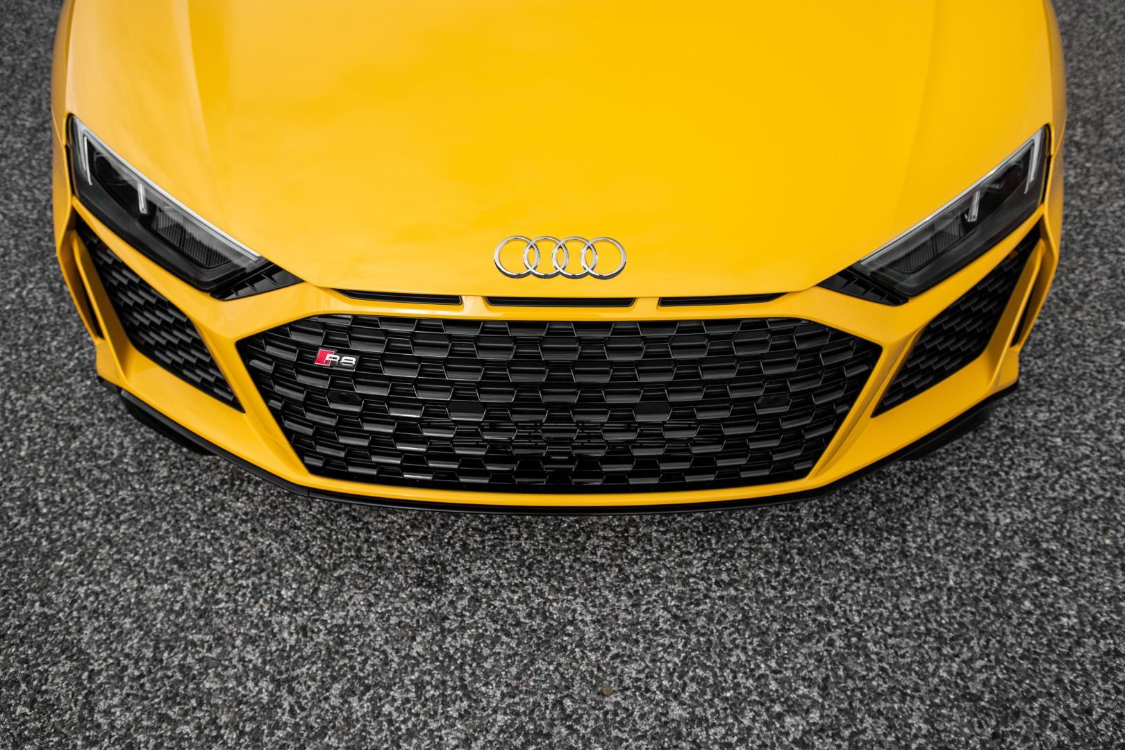 Audi R8 V10 grille