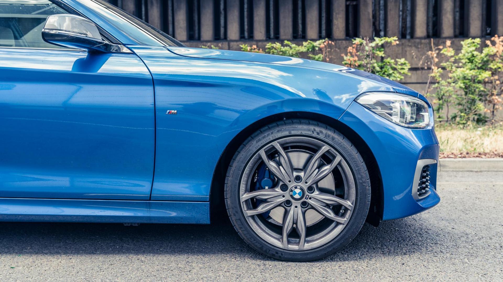 BMW M140i voorkant