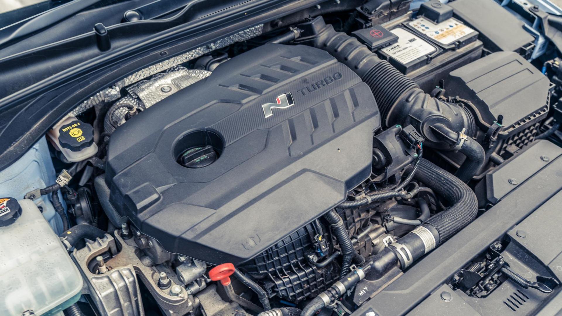 Hyundai i30N motor