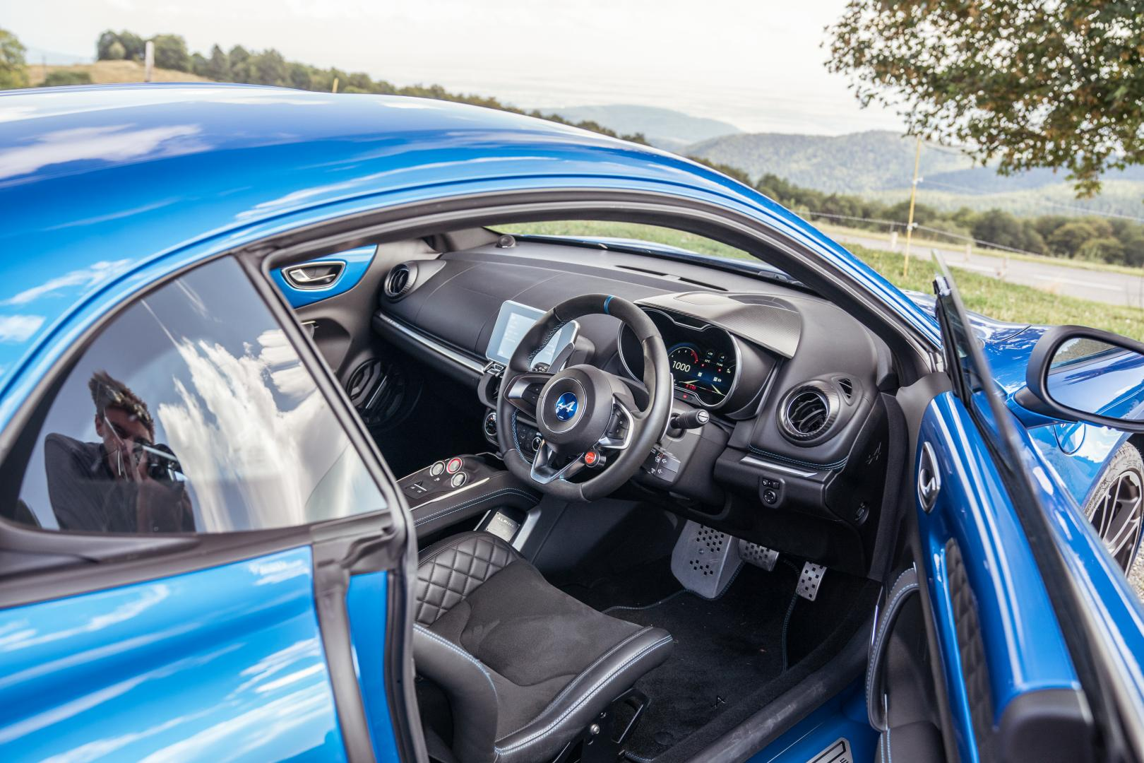 Alpine A110 cockpit