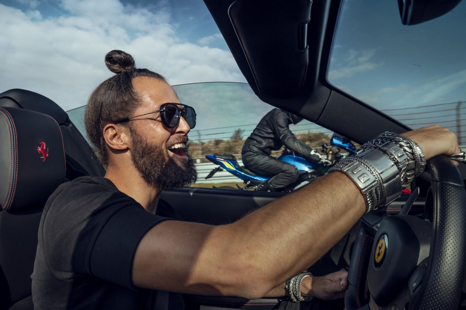 De auto's van DJ La Fuente