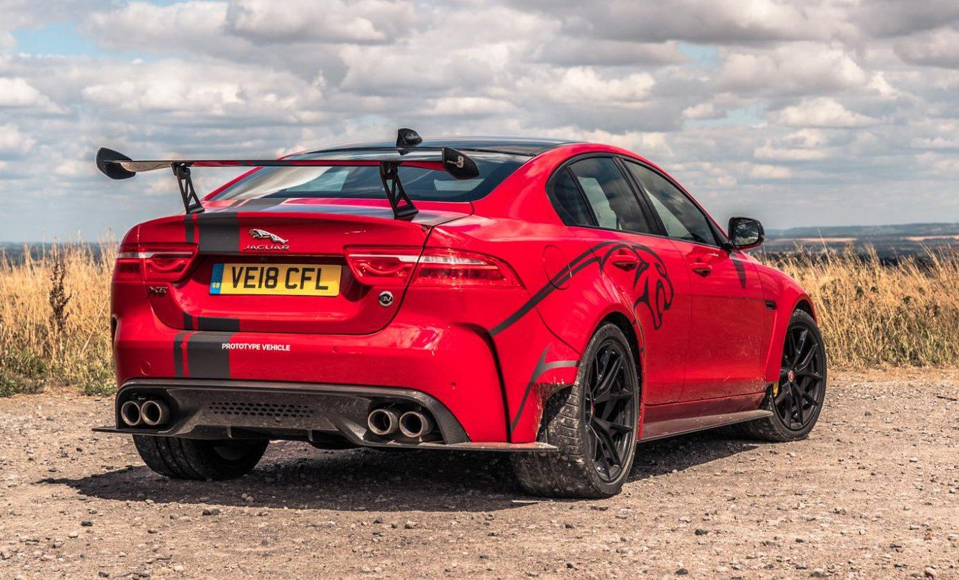 Jaguar XE SV Project 8 spoiler