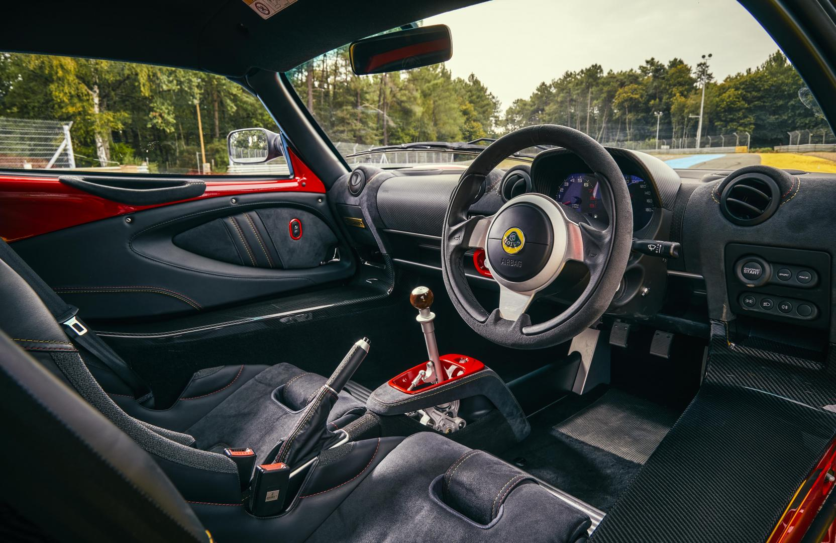 Lotus Exige Cup 430 interieur