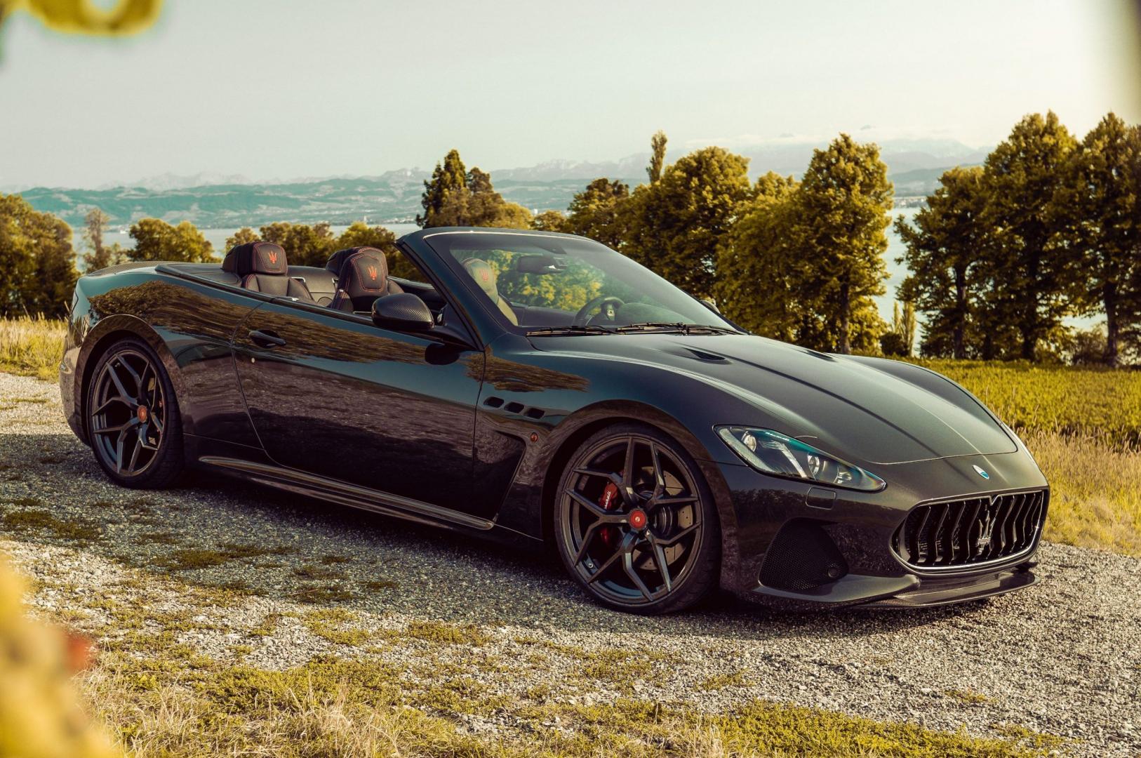 Maserati GranCabrio Pogea