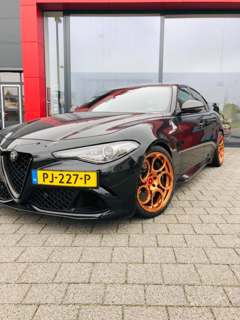 Nederlandse Alfa Romeo Giulia Q