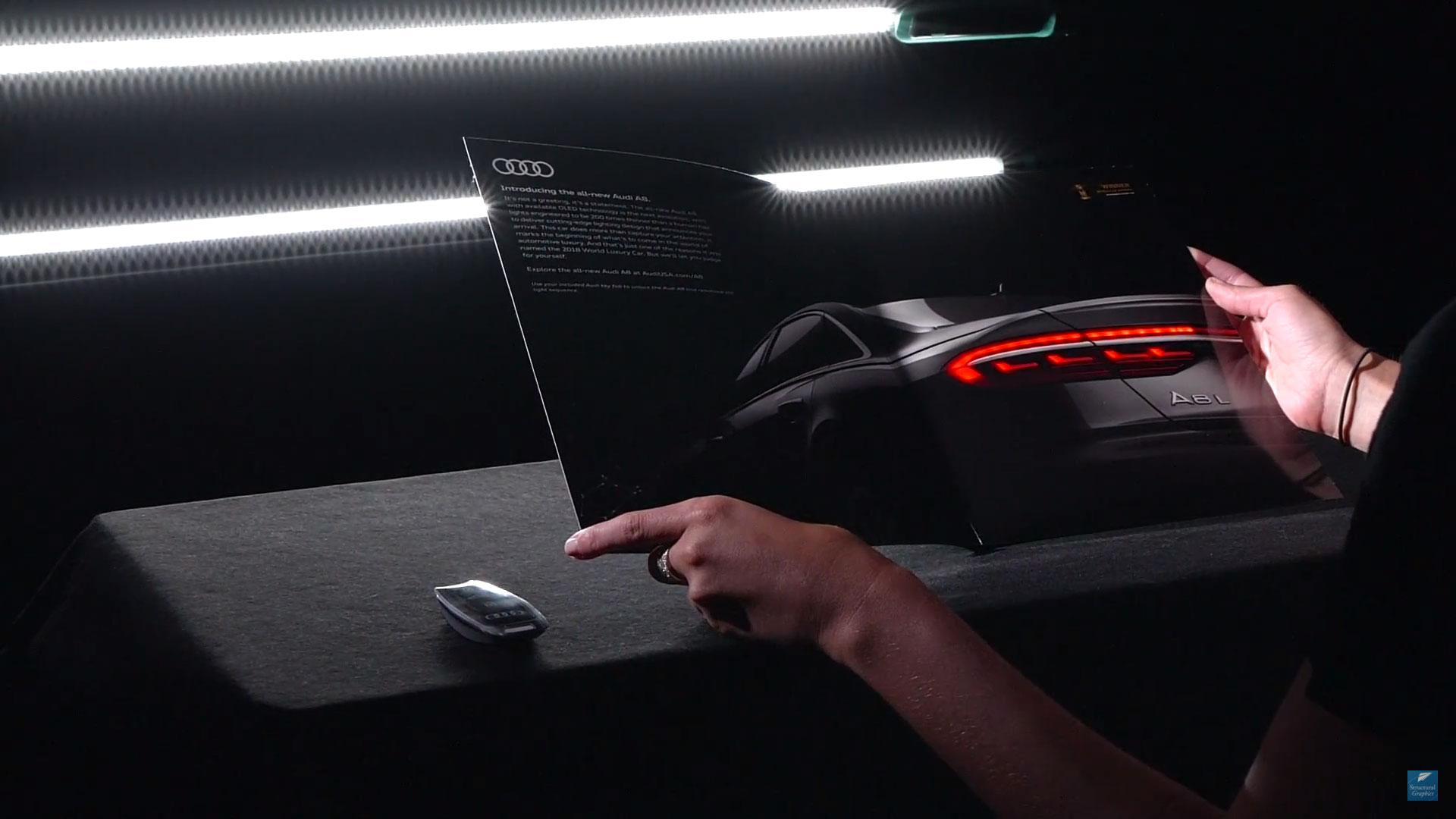 Audi A8-brochure