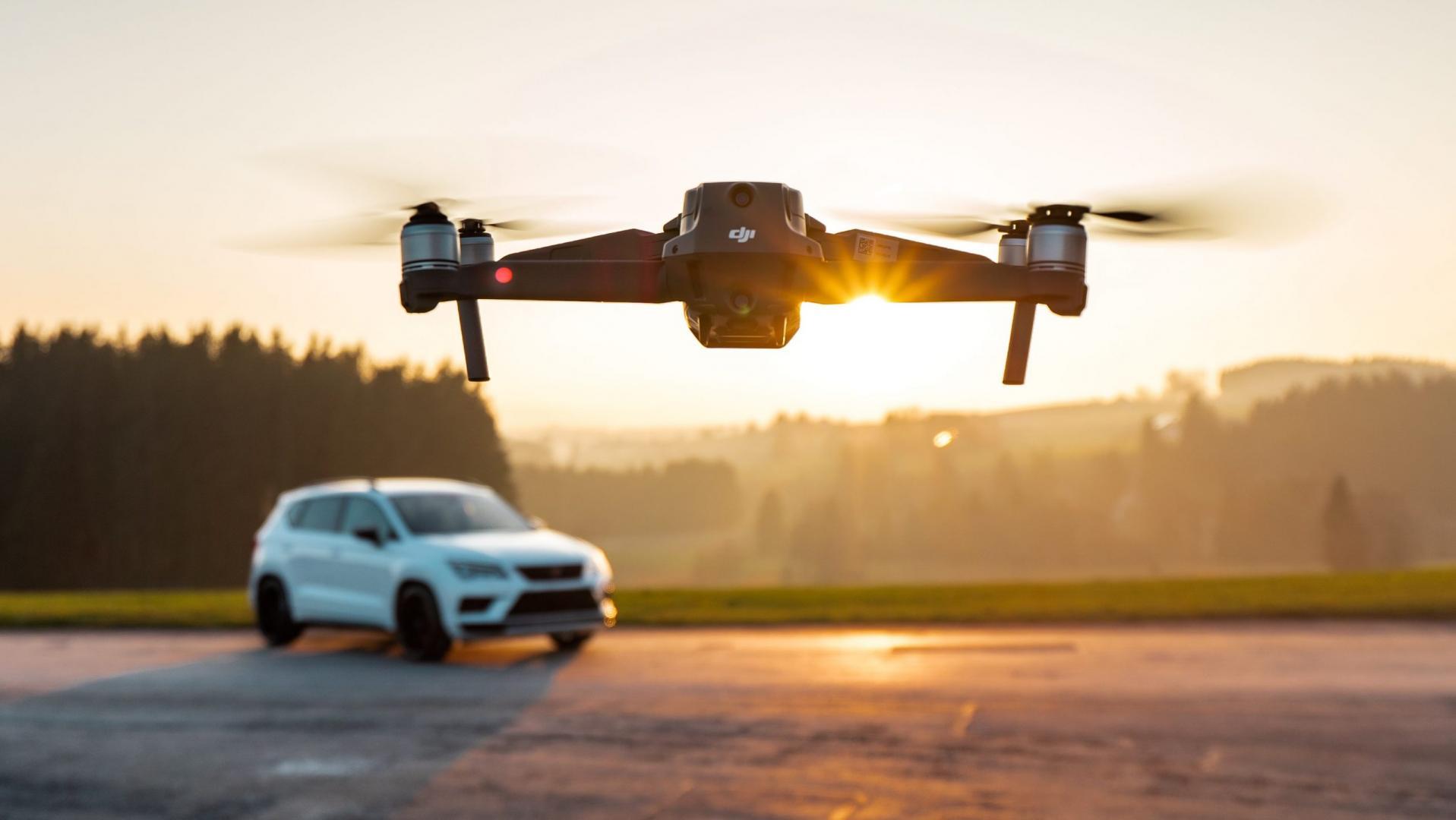 Ateca Cupra Abt Drone