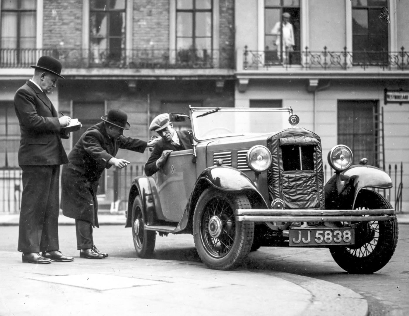 De Geschiedenis van het rijbewijs