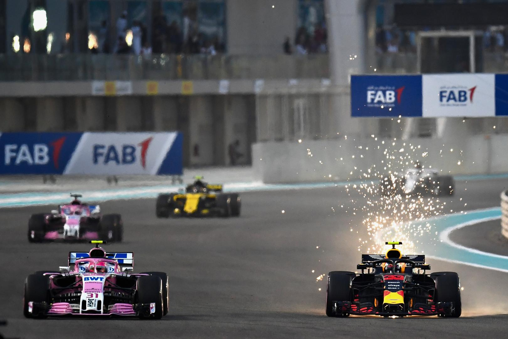 Uitslag van de GP van Abu Dhabi 2018