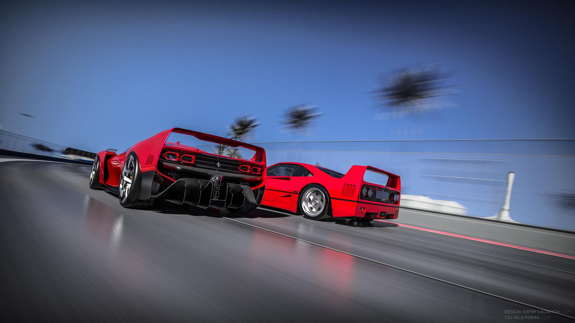 Ferrari F40 Tribute