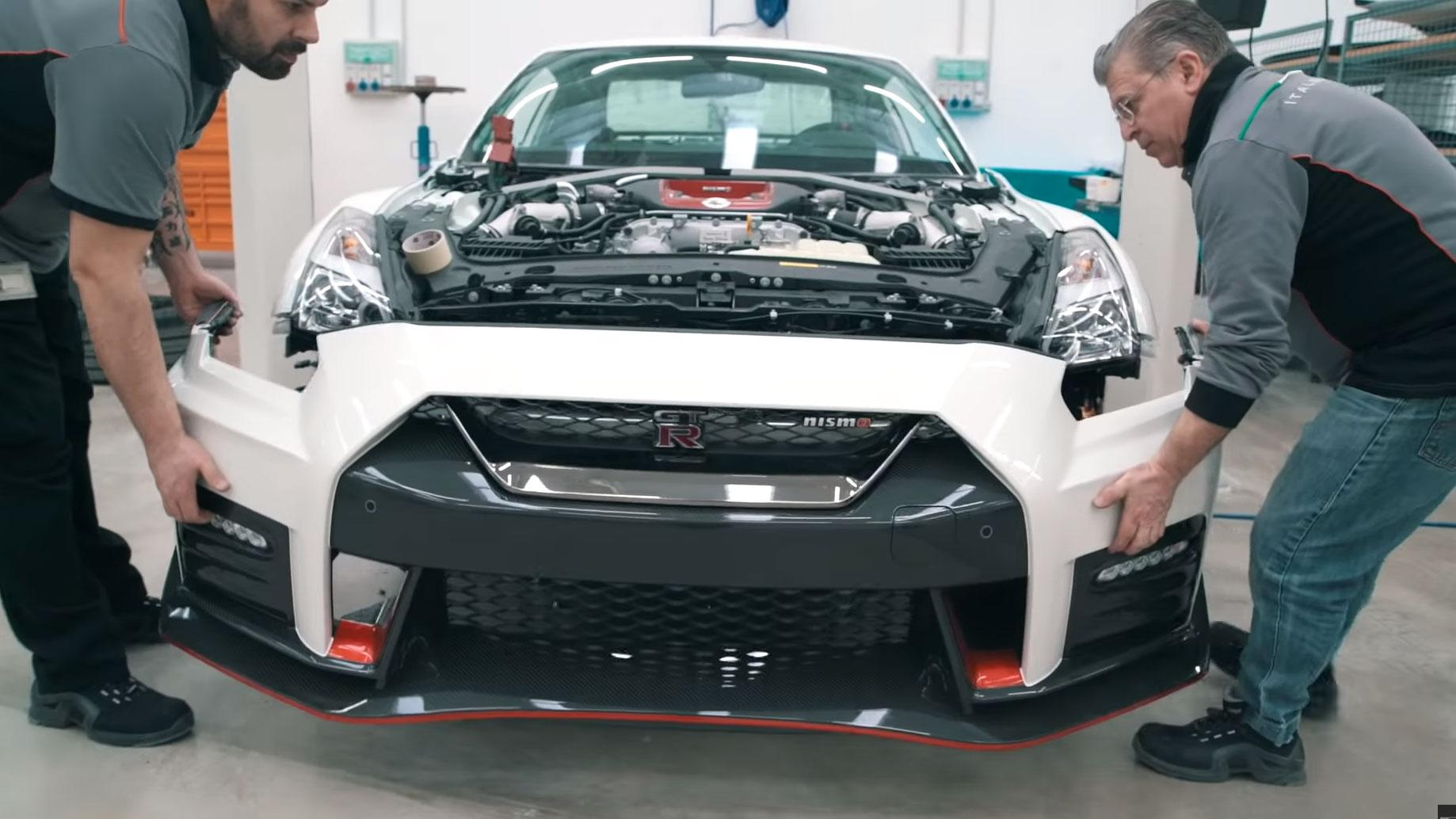 Italdesign Nissan GT-Italdesign Nissan GT-R50 the making ofR50 the making of