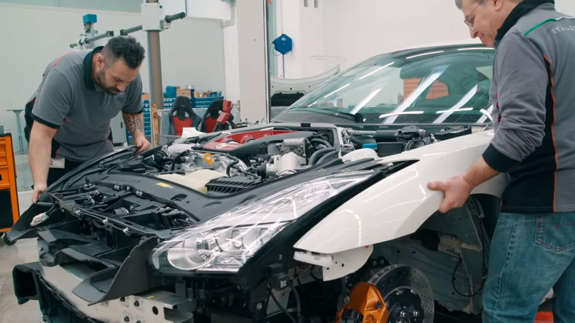 Italdesign Nissan GT-R50 the making of