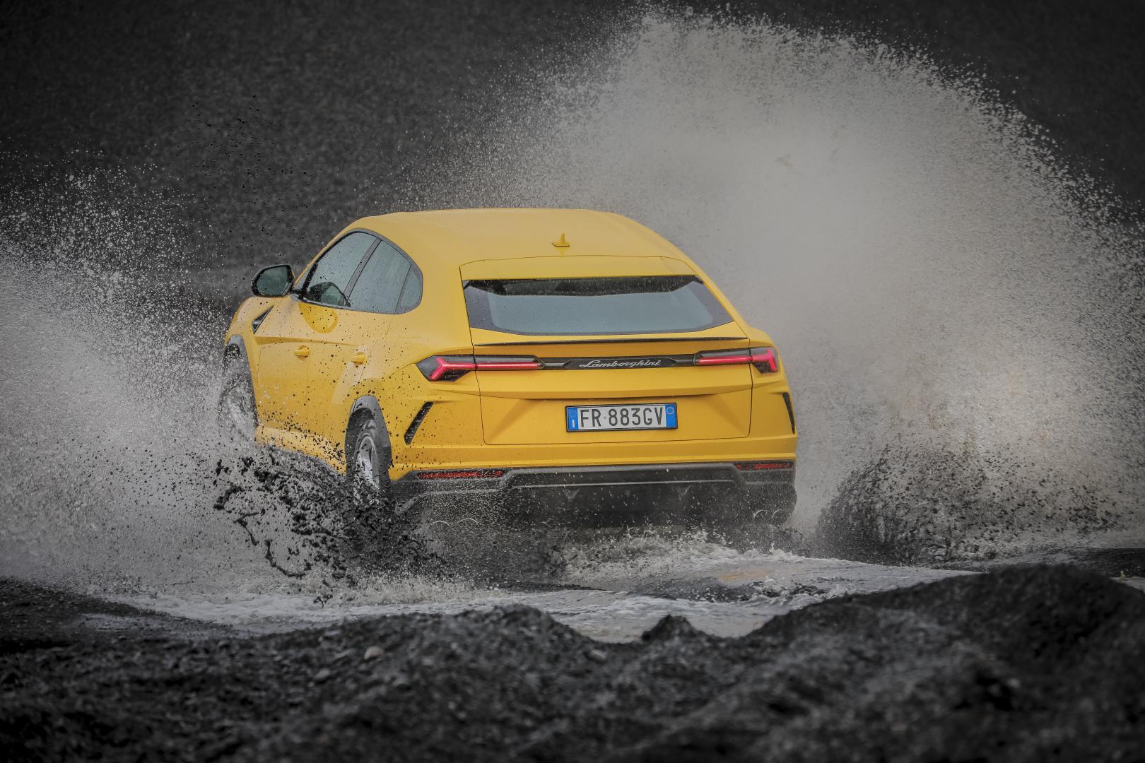 Lamborghini Urus IJsland Avventura