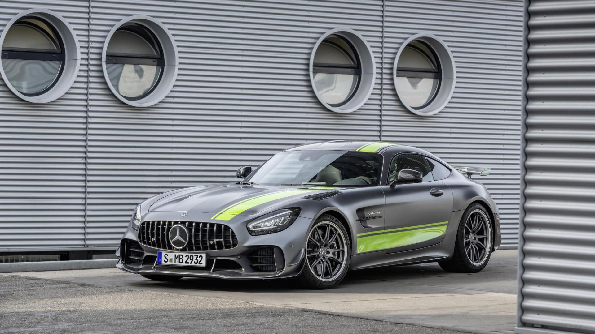 Mercedes-AMG GT R Pro interieur