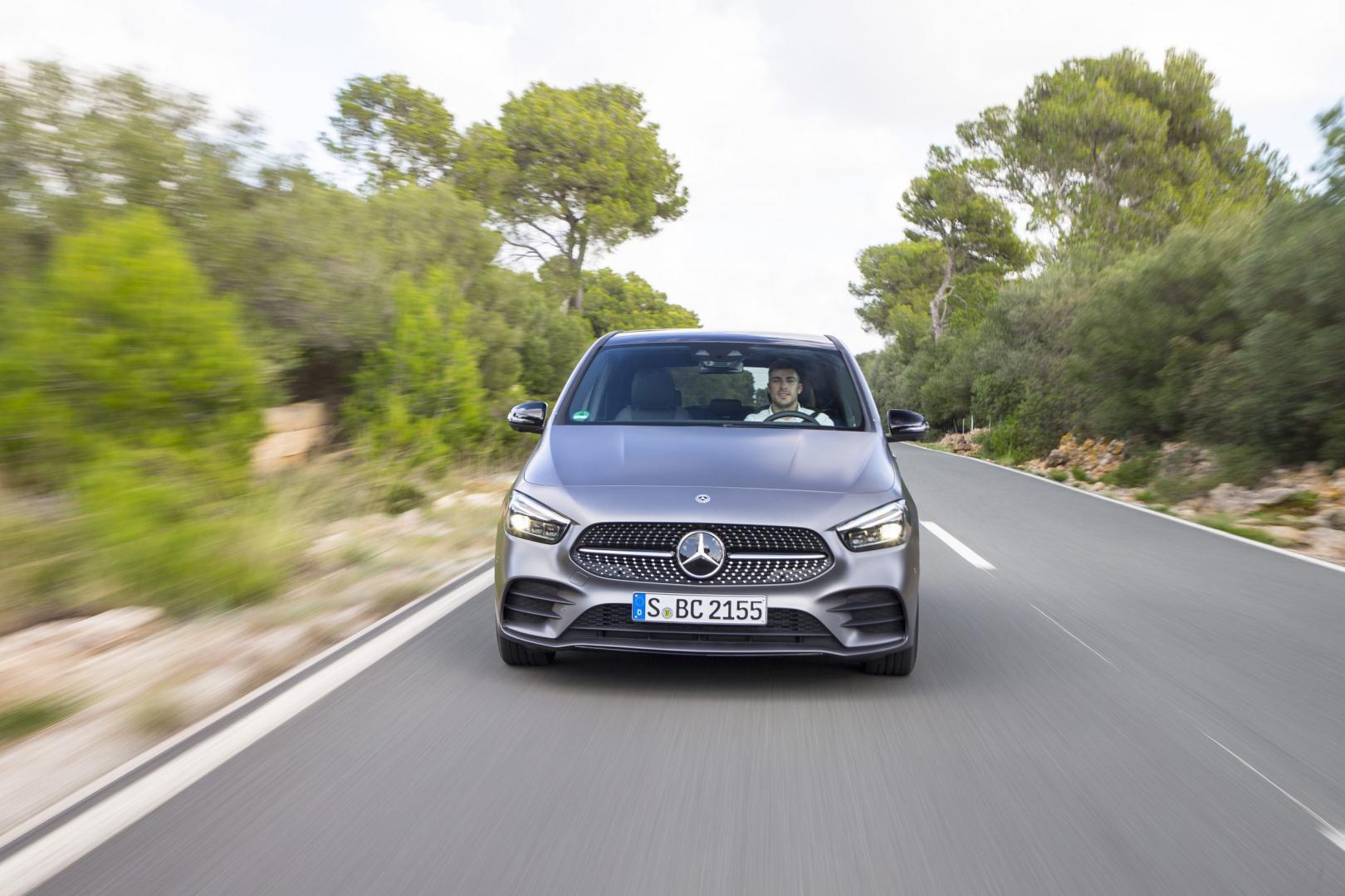 Nieuwe Mercedes B-klasse (2019): 1e rij-indruk