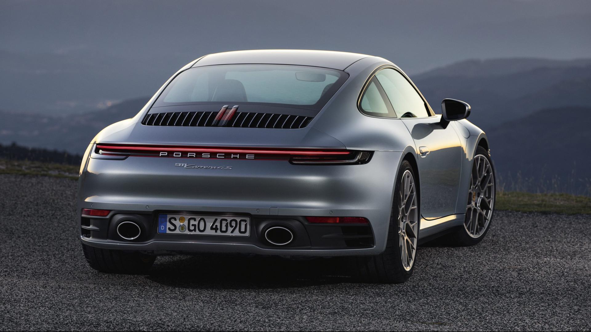 Porsche 911 992 achterkant