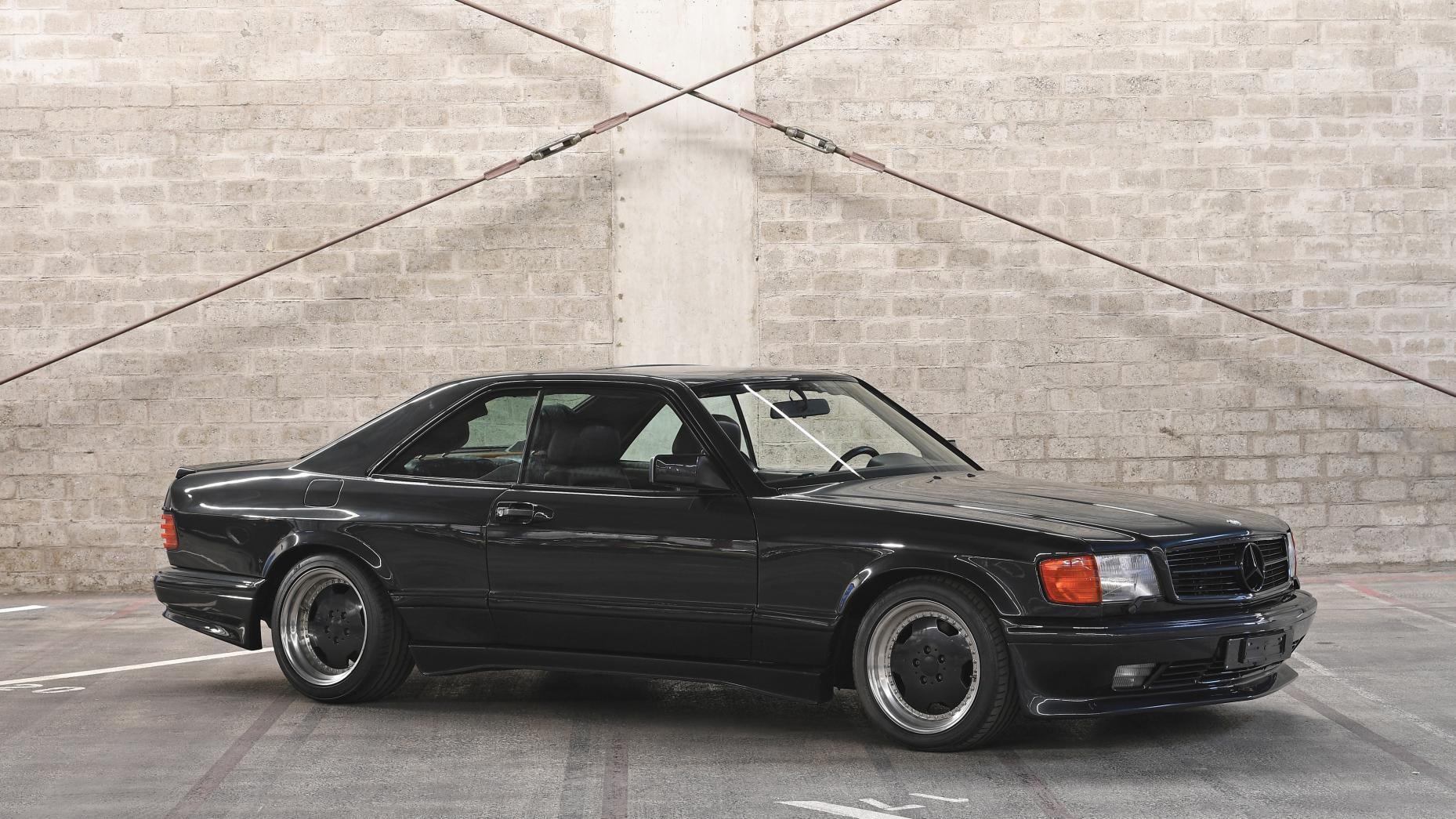 Mercedes-Benz 500 SEC AMG 6.0 widebody