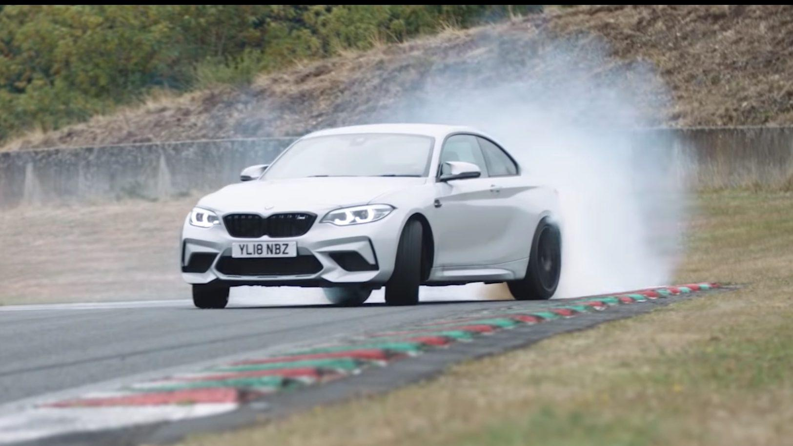 BMW M2 Competition over Circuit de Charade