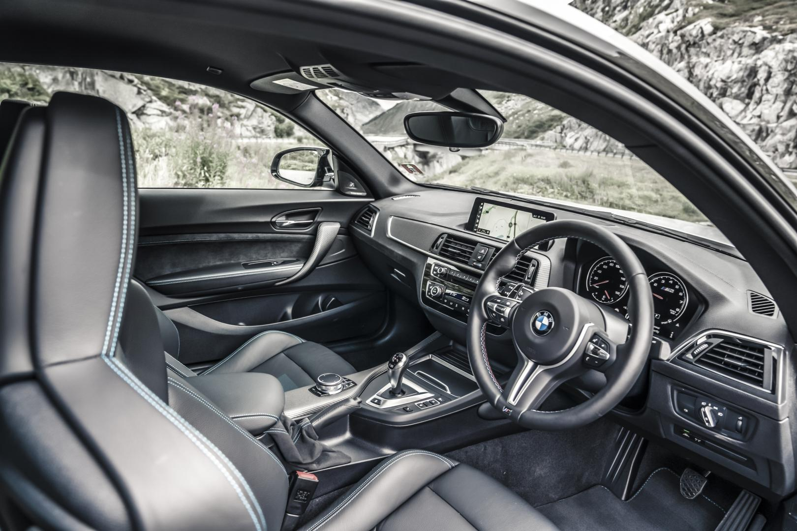 BMW M2 Competition cockpit