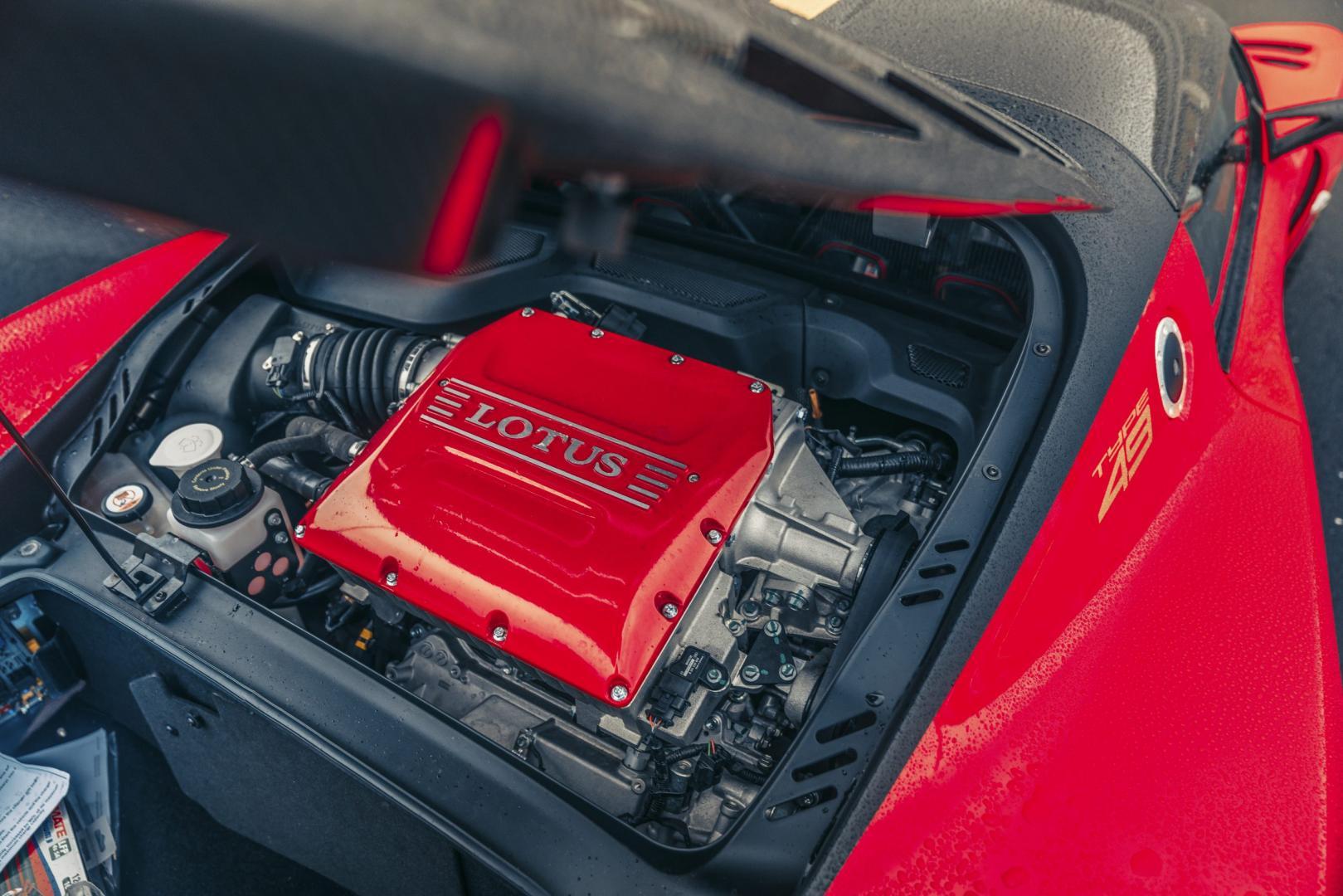 Lotus Exige Cup 430 motor