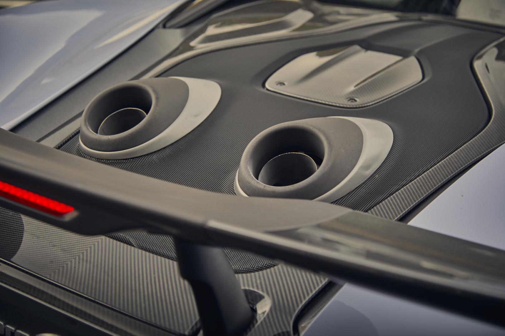 McLaren 600LT uitlaat