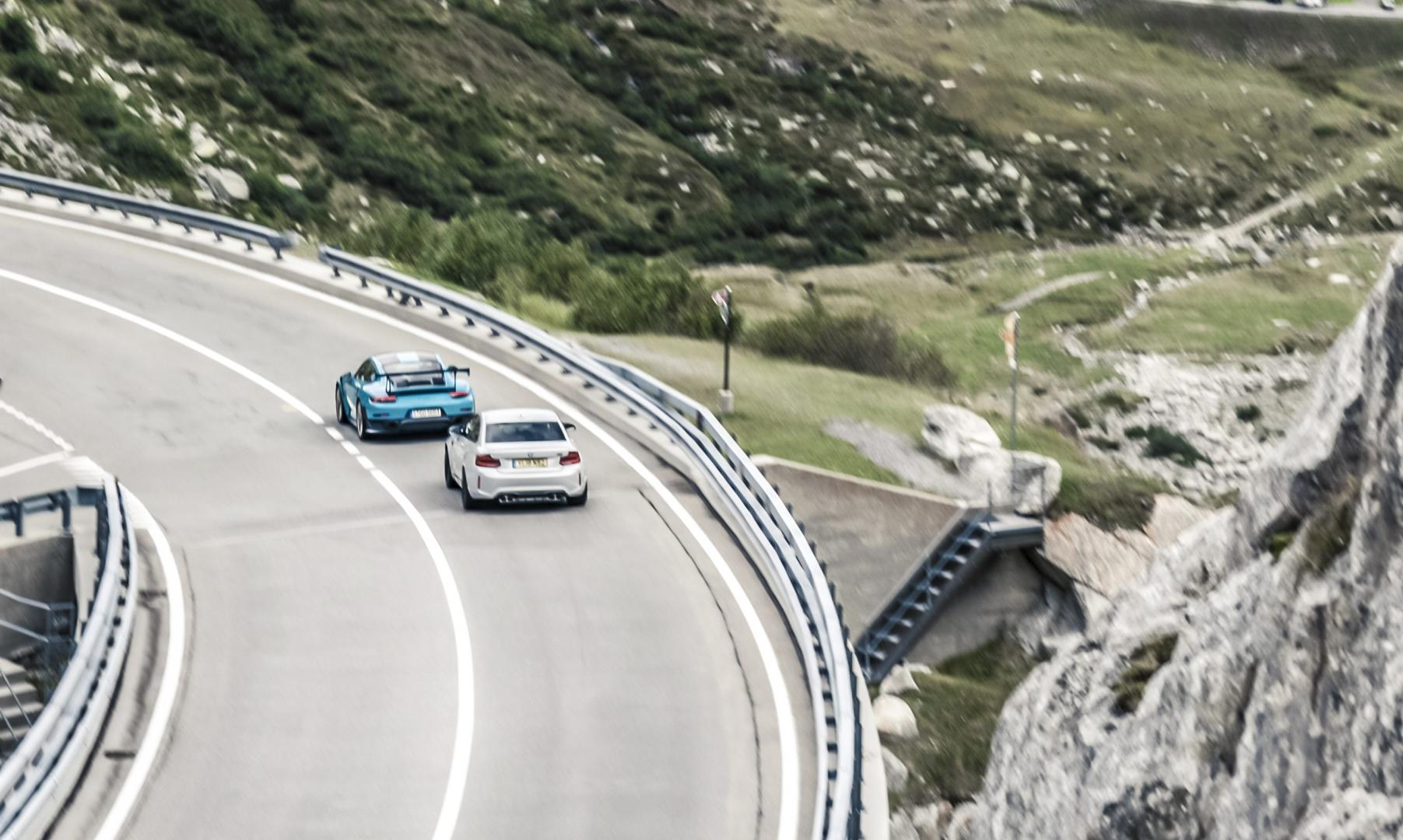 Mercedes-AMG G 63 vs Porsche 911 GT2 RS vs BMW M2 Competition 2