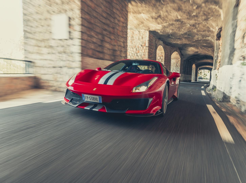 Ferrari 488 Pista Tunnel