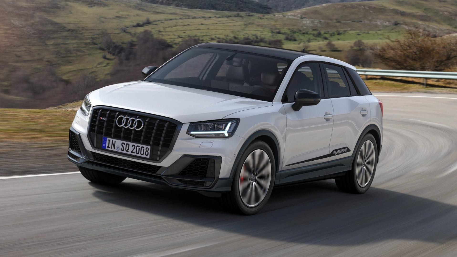 Audi SQ2 wit