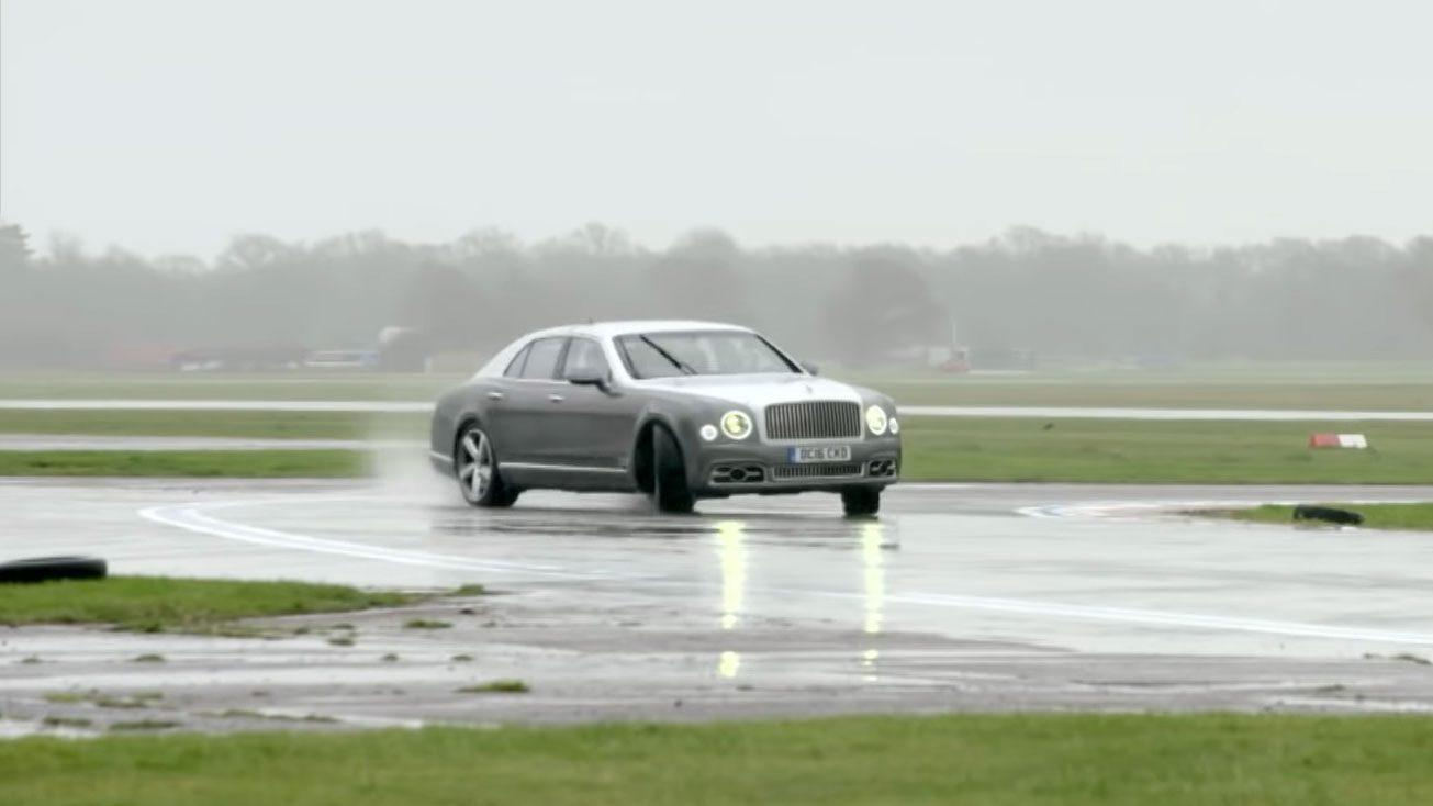 Bentley Mulsanne Speed Drift