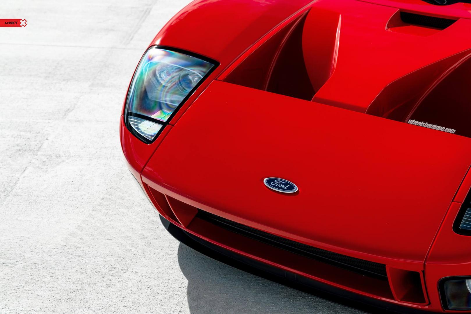 Ford gt met 1.000 pk