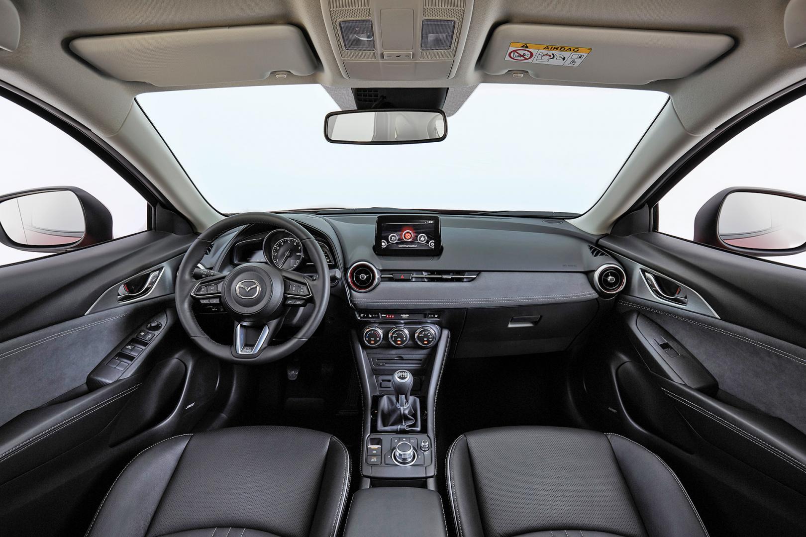 Mazda CX-3 2018 interieur