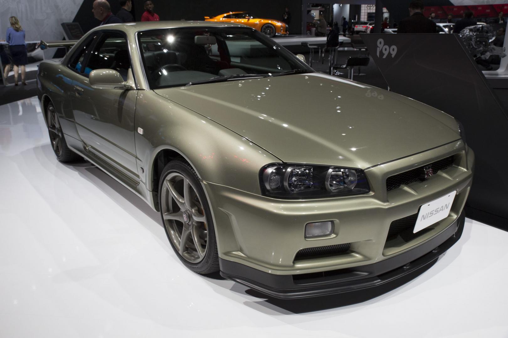 1999 Nissan Skyline GT-R R34 M-Spec Nur