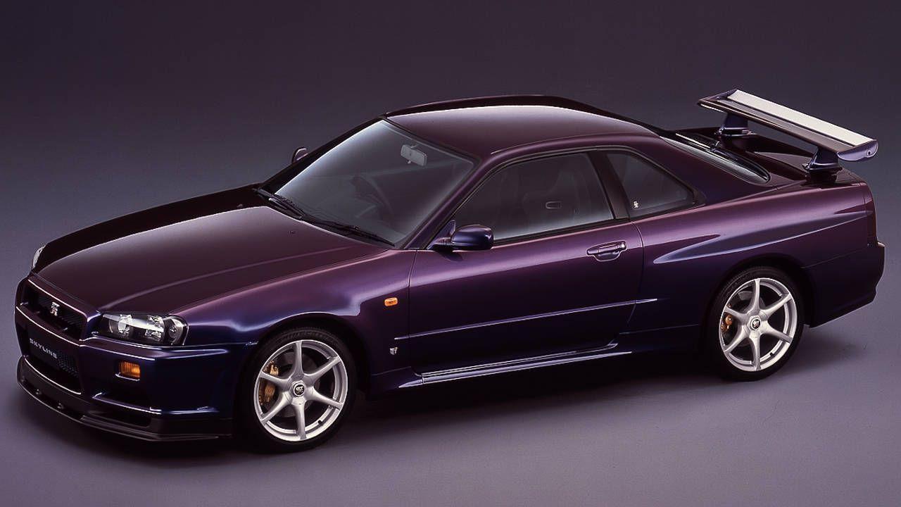 Nissan Skyline R34 GT-R Midnight Purple III