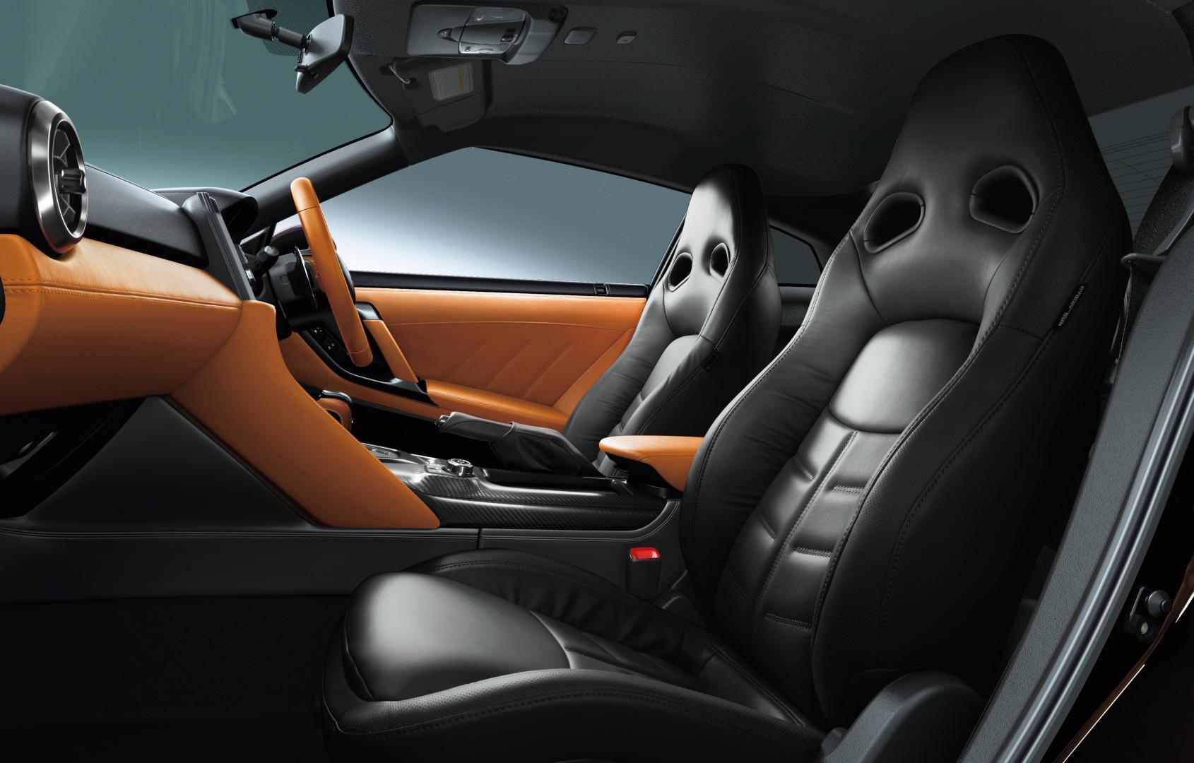Nissan GT-R in Midnight Opal