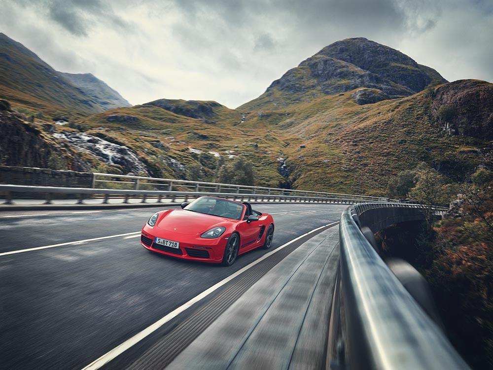 Porsche 718 boxter T