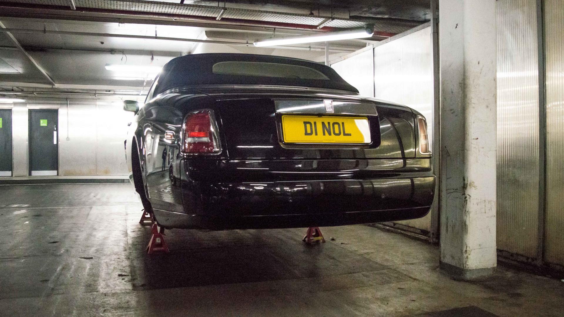 Rolls-Royce Phantom Dorphead Coupe zonder wielen